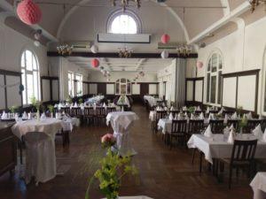 Saal im Hotel zur Krone-Hochzeitslocation Münsterland
