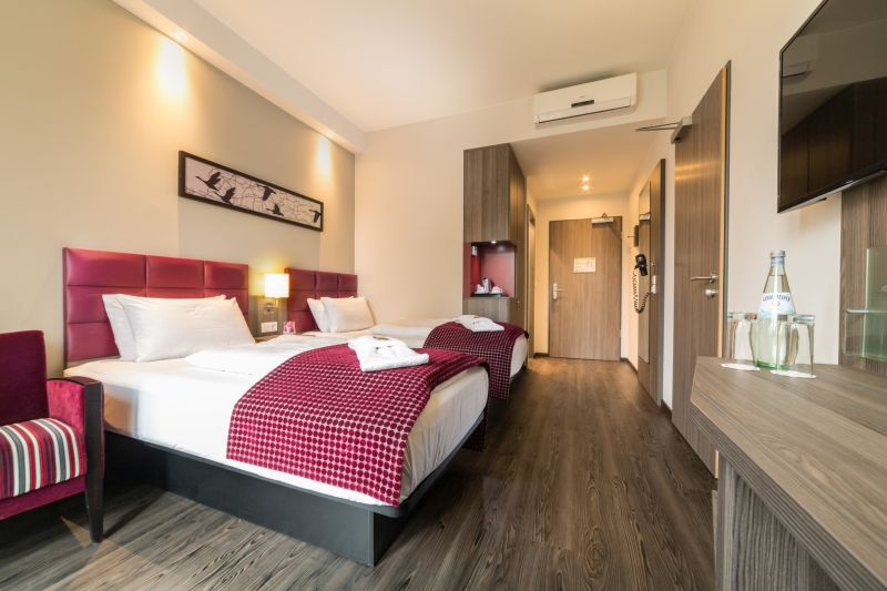 Hotelzimmer im Gästehaus Komfort Twin Hotel zur Krone, Hotel Gescher bei Coesfeld, Velen, Stadtohn, Borken