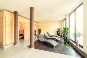 Wellnessbereich im Hotel zur Krone in Gescher mit Sauna und Whirlpool