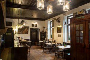 Historisches Restaurant im Hotel zur Krone, Gescher bei Stadtlohn, Coesfeld, Borken