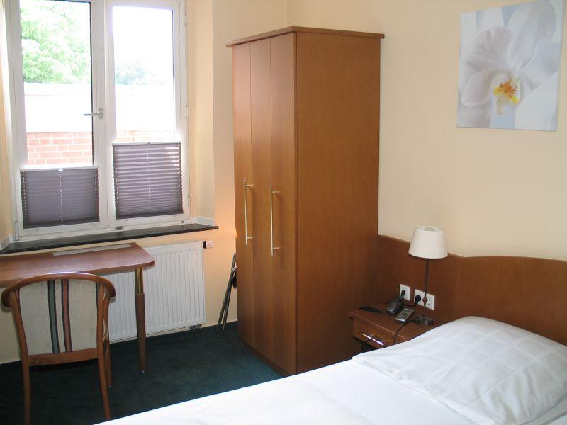 Hotelzimmer im Stammhaus, Hotel zur Krone Gescher bei Coesfeld, Stadtlohn, Borken, Velen
