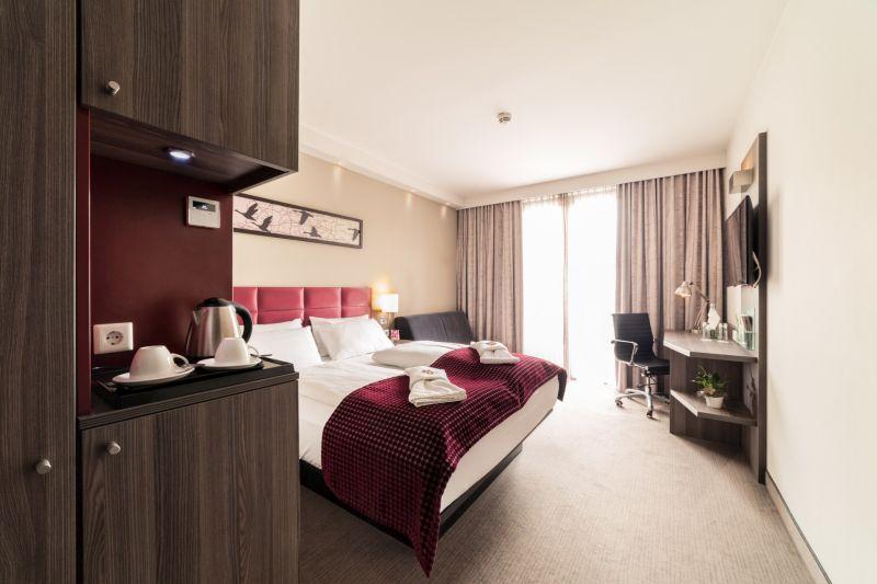 Hotelzimmer im Gästehaus Komfort Classic, zur Krone, Hotel Gescher bei Coesfeld, Stadtlohn, Velen, Borken