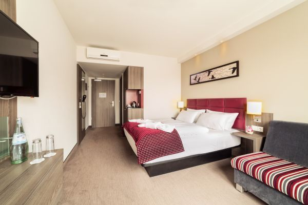 Zimmer im Gästehaus Komfort Deluxe Hotel zur Krone in Gescher bei Coesfeld, Stadtlohn, Borken, Velen
